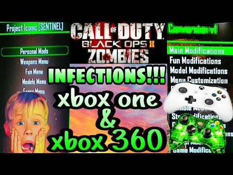 Bo2 - Project Iconic Zombie Mod Menu Theather Infection [NO JTAG/RGH