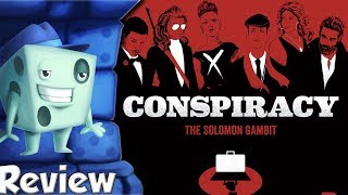 Conspiracy: The Solomon Gambit Review - with Tom Vasel