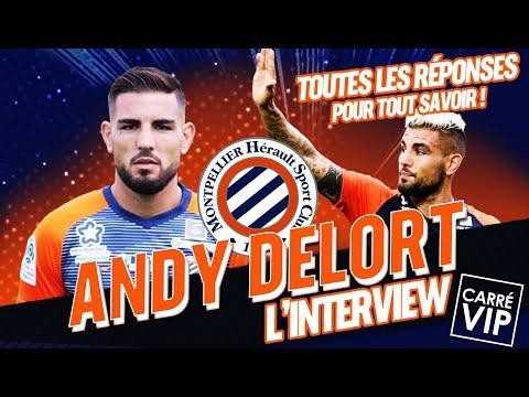 Andy Delort l'attaquant star en interview dans Carré Vip sur RTS