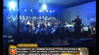 preview picture of video 'CARMINA BURANA   MARCOS JUAREZ, CORO POLIFONICO NACIONAL NEW'