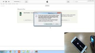 RESTORE A DISABLE IPHONE 4S/5/5S/6/6S OR IPAD |||SOLUTION ITUNES  ERROR 3014/3008/3194/1011/4013||