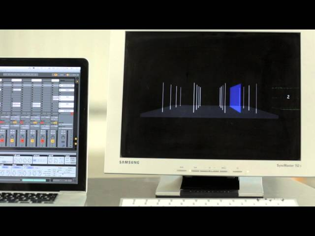 Interaction with 4DSOUND & Ableton Live