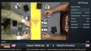 Pro Tour Dragon's Maze Finals: Dusty Ochoa vs. Craig Wescoe