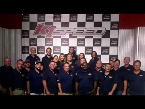 Our team works extremely hard, so we treated them to a night out at the track!