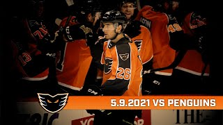 Penguins vs. Phantoms | May 9, 2021