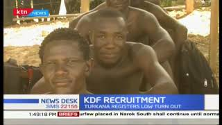 Nationwide KDF recruitment ends as it records low turn out in Turkan County