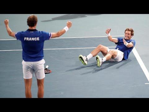 Davis Cup: Η Γαλλία στον τελικό – Νίκησε την Ισπανία με 3-0