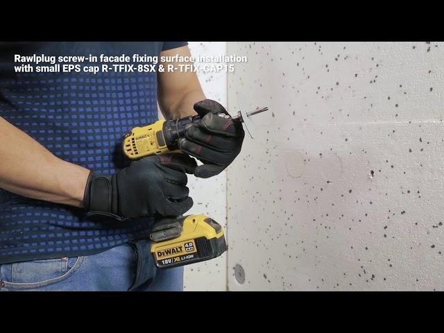 R-TFIX-8SX Universal facade fixing with plain screw