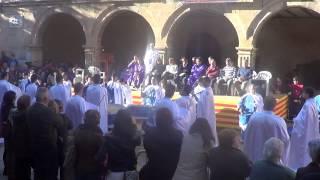 preview picture of video 'Banda de tambores, timbales y bombos de la cofradía La Entrega de Jesús de Tudela'
