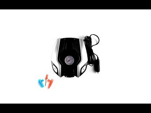 Mini Compresor portabil, 12V, 150psi, lumina urgenta, 3 in 1