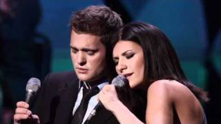 Michael Bublé & Laura Pausini - You Will Never Find (Live)