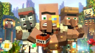 Annoying Villagers 41 - Minecraft Animation
