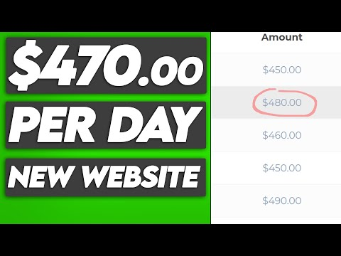 Earn $430.00+ Per Day Using NEW Website (FREE) Make Money Online 2021