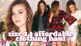 AFFORDABLE SUMMER CLOTHING JUSTFAB HAUL - SIZE 14 | LUCY WOOD