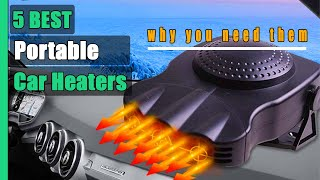 Portable Car Heaters: 5 Best Portable Car Heaters 2021 (Buying Guide)