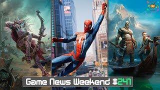 Игровые Новости — Game News Weekend #241 | (Spider Man, God of War, Vampyr, WoW Battle for Azeroth)