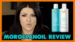 Moroccan Oil Hydrating Shampoo & Conditioner - REVIEW - Irvy