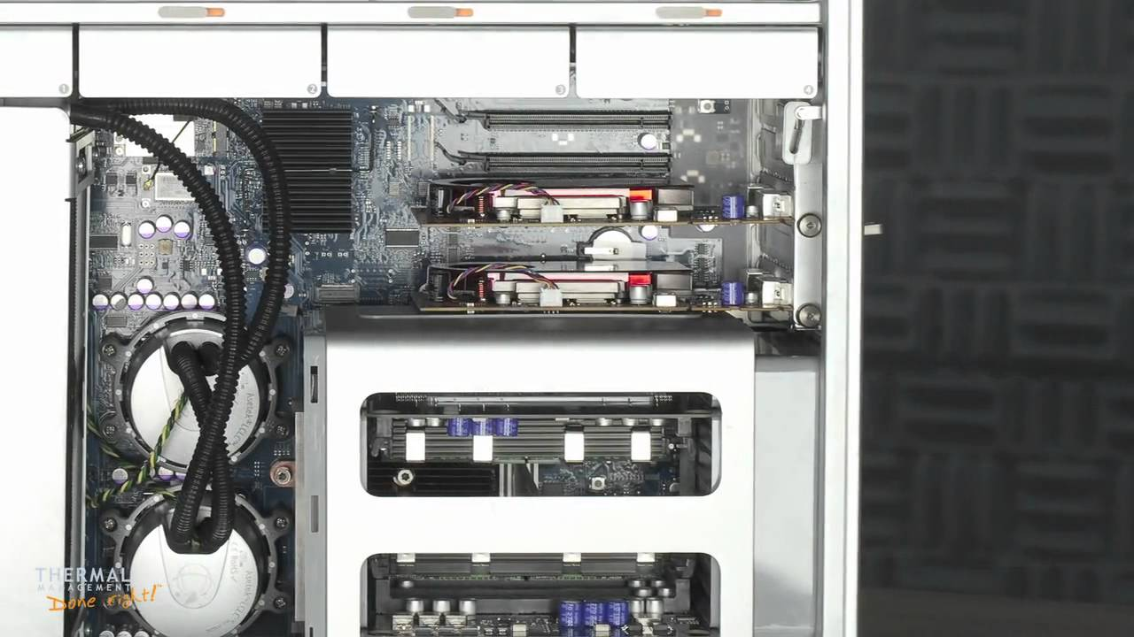 Asetek Liquid Cooled & Overclocked Apple Mac Pro