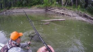 Три заброса-ТРИ КРОКОДИЛА!!! Попали на выход КРУПНОЙ щуки! Рыбалка удалась!