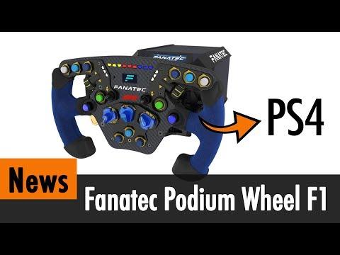 News: Fanatec kündigt das KRASSESTE PS4-Lenkrad an (Podium DD Wheel)