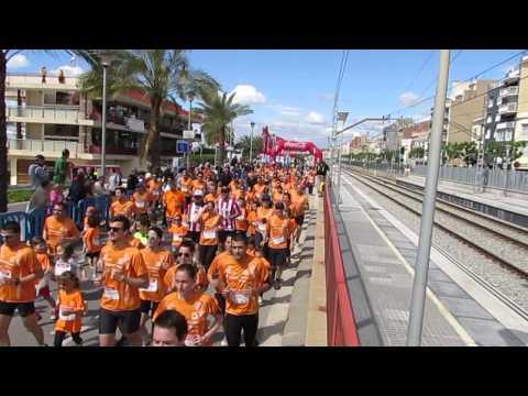 Vídeo Salida 1a carrera popular El Masnou 5km