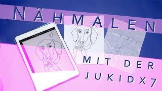 Nähmalen mit der Juki DX7 - mit vielen Tipps und Tricks
