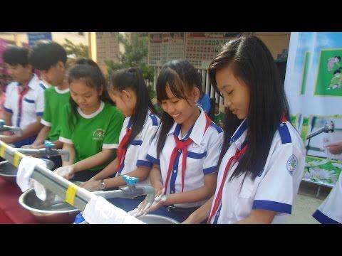 Ngày hội tay sạch vui khỏe 2016 - THCS Long Kiến