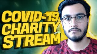 COVID-19 CHARITY LIVESTREAM (WE STAND TOGETHER) | PUBG MOBILE SEASON 12 | RAWKNEE