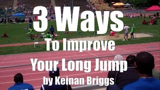 3 Ways To Improve Your Long Jump