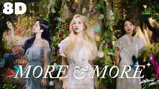 🌼[8D] TWICE - MORE & MORE (ENGLISH VER.)    WEAR HEADPHONES 🎧