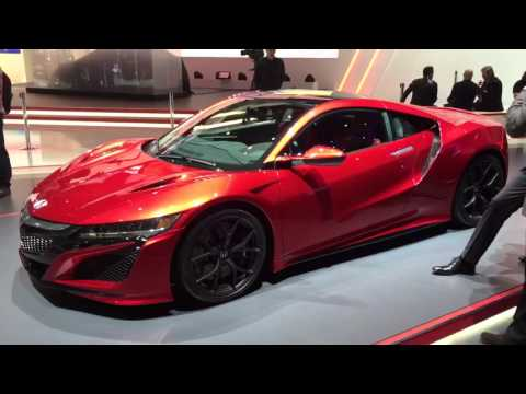 Honda NSX priced from 130k - first Geneva video tour