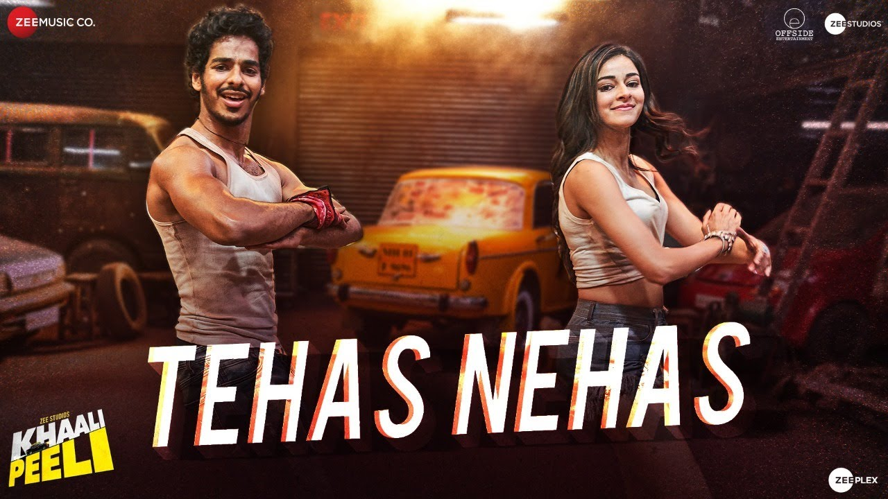 Tehas Nehas - Khaali Peeli Full Song Lyrics | Ishaan & Ananya | Vishal & Shekhar | Prakriti , Kumaar - Lyricworld