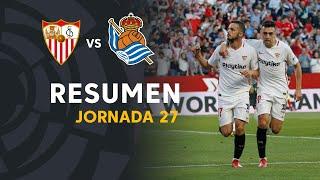 Resumen De Sevilla FC Vs Real Sociedad (5-2)