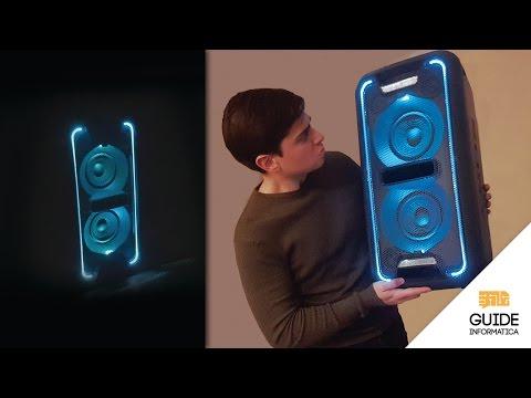 Sony GTK-XB7 Recensione - Speaker blueooth portatile più potente