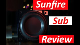 Sunfire Solitaire 10 Subwoofer Review