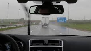 Test-drive Subaru Legacy 2018 - автоматический контроль дистанции
