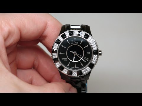 Christian Dior Dior Vlll Women's Watch Review Model: CD1231E1C001