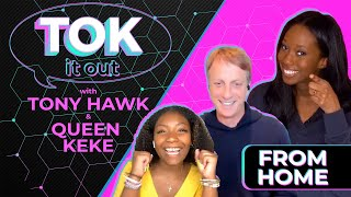 'Tok It Out': Tony Hawk Talks TikTok Fame, and Queen Keke Teaches a New Dance