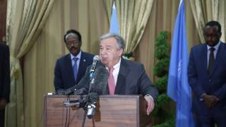 Secretary-General António Guterres visits drought-hit Somalia
