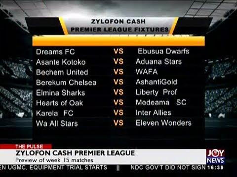 Zylofon Cash Premier League - The Pulse Sports on JoyNews (1-6-18)
