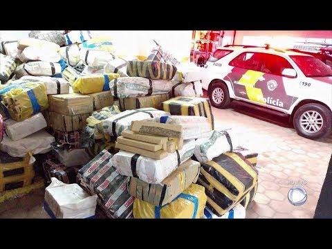 Polícia Rodoviária apreende de sete toneladas de maconha em Avaí