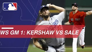 WS2018 Gm1: Kershaw, Sale set to duel in World Series