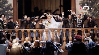 Rachel Willis-Sørensen and John Osborn in Les Huguenots at Grand Théâtre de Genève