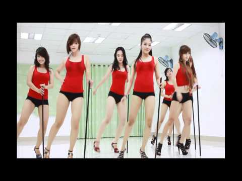 Nhóm nhảy Việt Nam siêu sexy