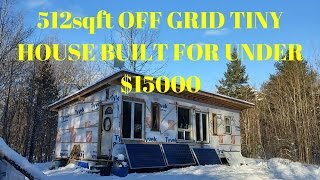 Download Youtube: AMAZING OFF GRID BUILD!!! ON A BUDGET!!!