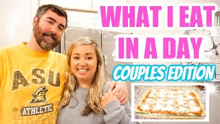 WHAT I EAT IN A DAY | COUPLES EDITION | COOK WITH US | JESSICA O'DONOHUE