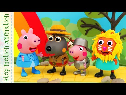 The Wizard Of Oz Peppa Pig Toys Stop Motion Animation English Episodes 2018 Minnie Mouse Color And Play Minnies Garden
