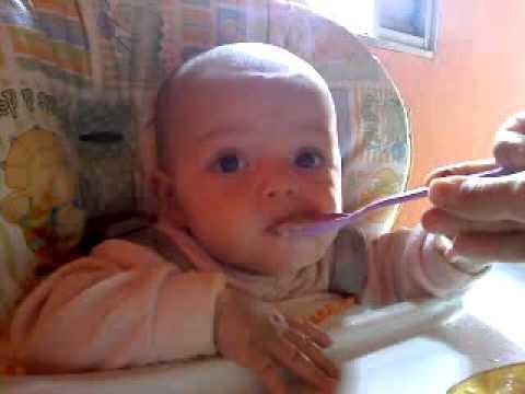 Comida de crianças em neurodermatitis