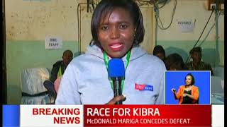 BREAKING NEWS: Jubilee\'s Mc Donald Mariga concedes defeat as ODM\'s Imran Okoth takes an early lead
