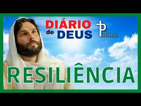 Orao do dia   Dirio de Deus   Palavras   Resilincia